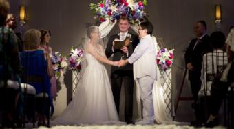 wedding ceremony ella ballroom banquet hall at noor