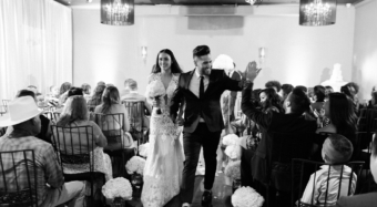 Wedding Ceremony on the Ella Ballroom Banquet Hall