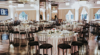 wedding banquet hall reception setup noor pasadena