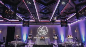 wedding reception in the ella banquet hall noor los angeles