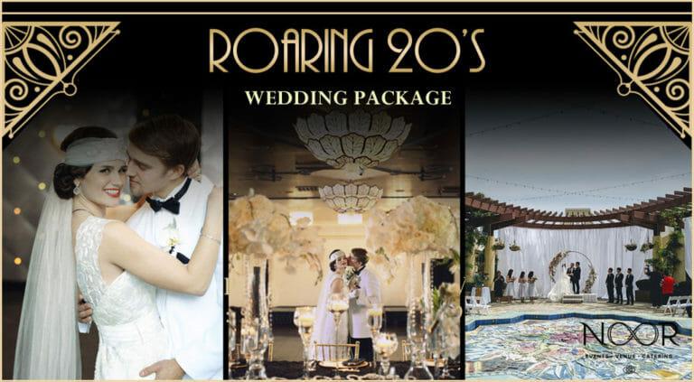 roaring 20s wedding promotion