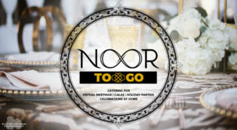 noor to go catering service announcement